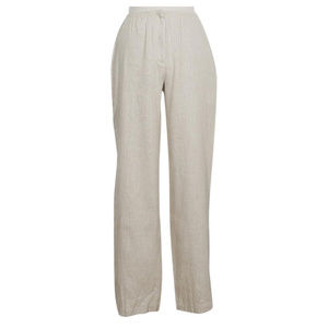 Granito Linen Luxe Straight Trouser Pants S